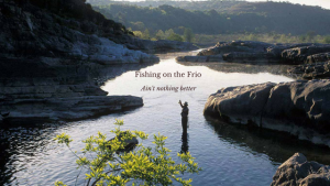 Is the fishing great on the Frio?  You bet your BASS it is!
